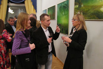 solo exhibition Ukrainian Motive