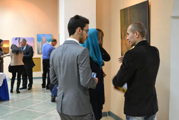 solo exhibition From Dnieper to the Alay