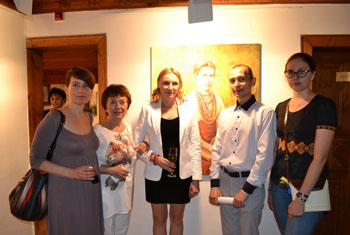 solo exhibition Ukrainian song at the City Art Gallery Plovdiv